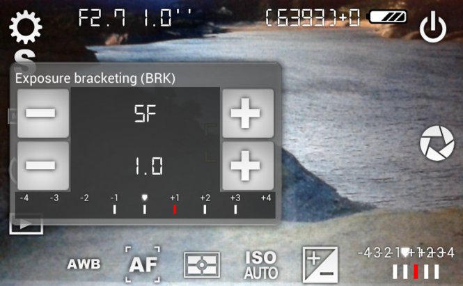 Сamera FV-5 Focus Settings