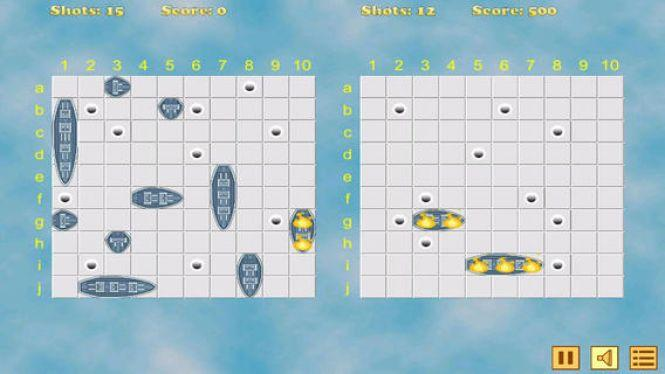 Sea Battle Game Challenge