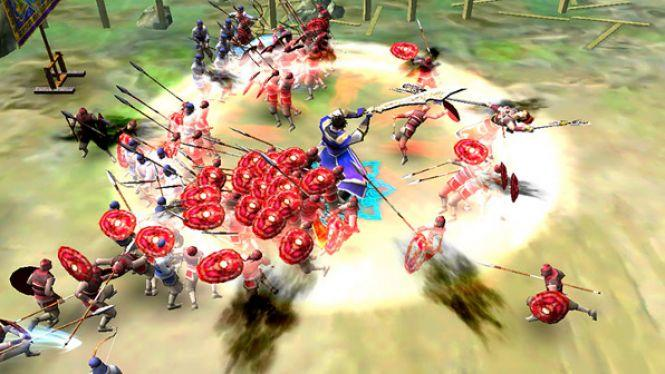 Dynasty Warriors: Blast Gameplay Screenshot