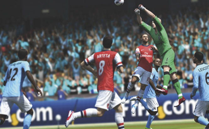 FIFA 14 Action