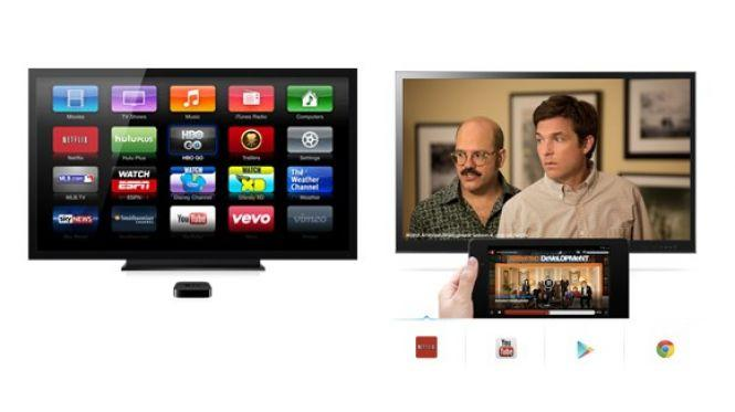 Apps: Apple TV vs Chromecast