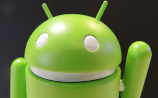 Happy Android Says Bye