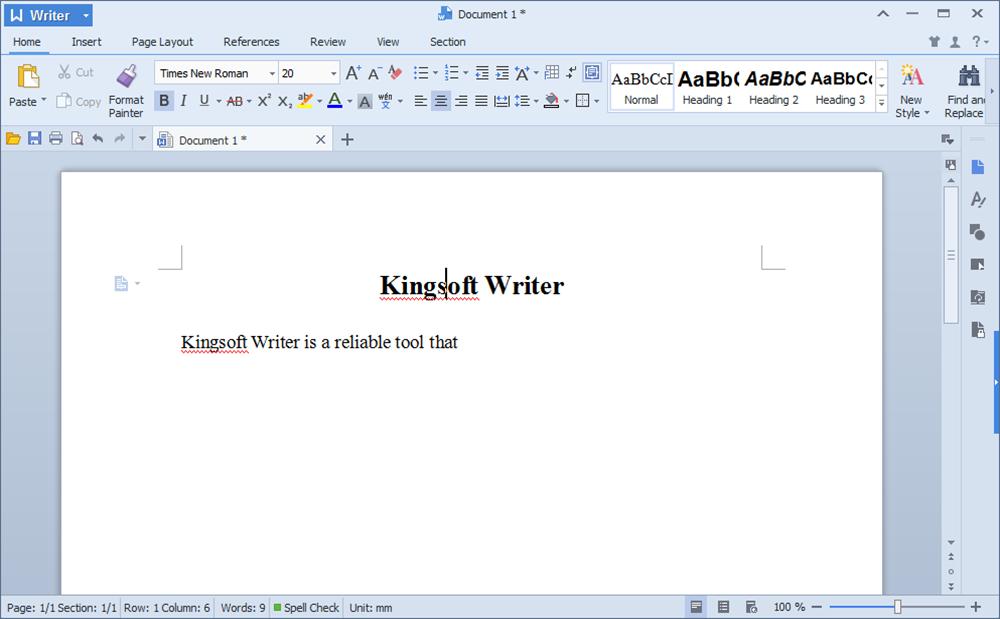 kingsoft pdf to word converter