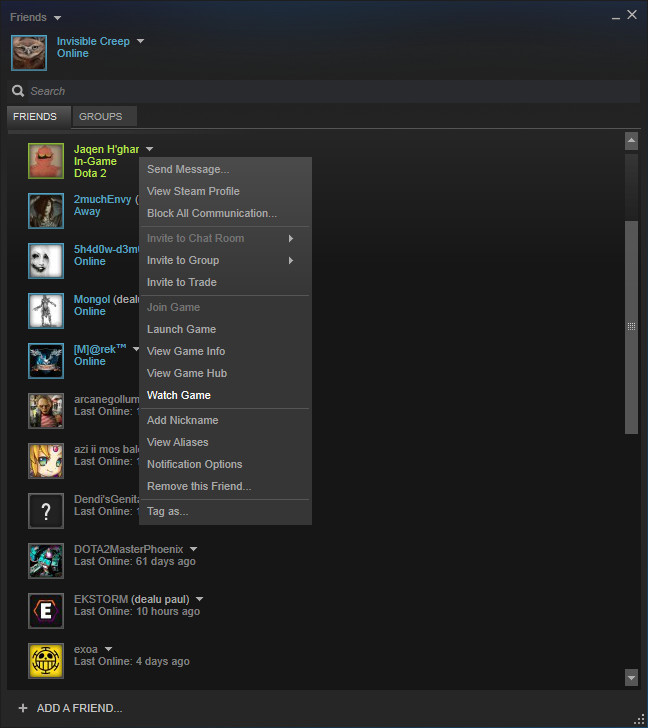 how to change steam broadcasting