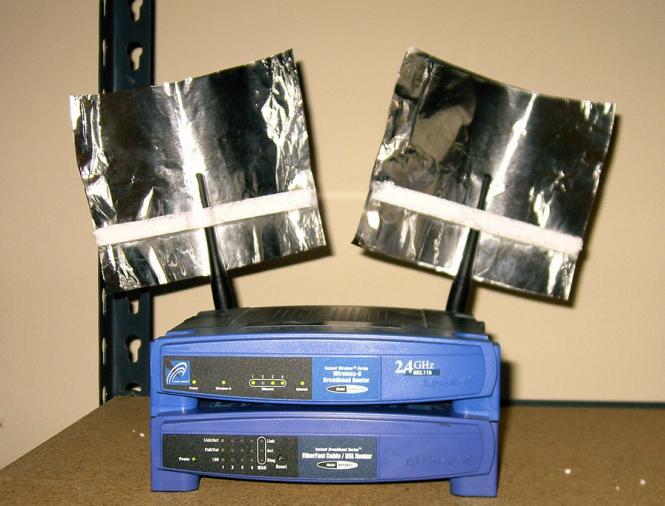 Kertas timah Signal Booster