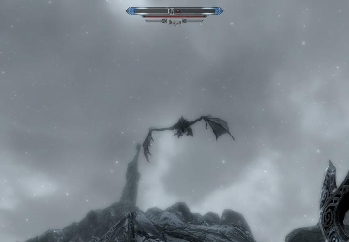 A Dragon Attack in Skyrim: In Moments Like This One You Can Forgive Bethesda for Anything