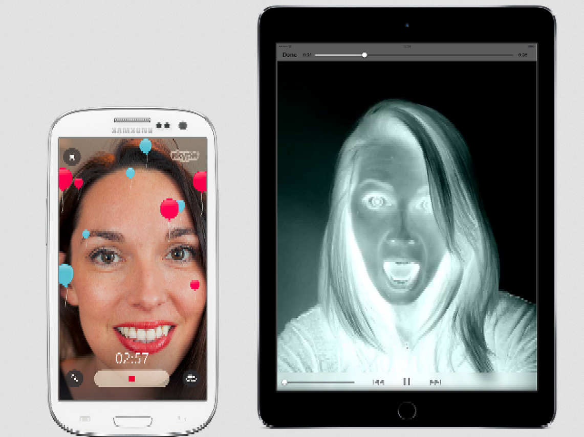 Skype Apps Updated With Halloween Video Filters And More