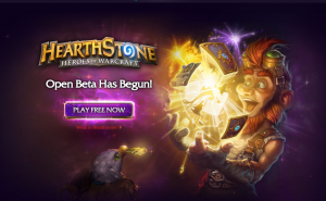 Hearthstone Enters Open Beta