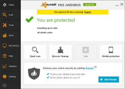 Freeware antivirus to protect your PC