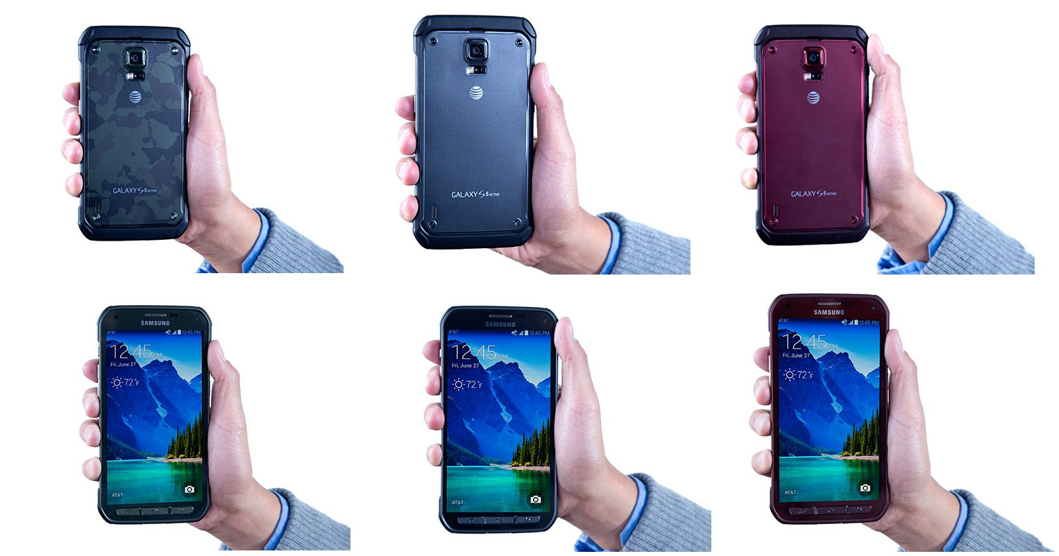 Galaxy S5 Active Titanium Gray
