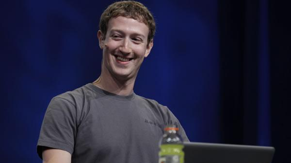 Mark Zuckerberg at f8: A Nice Smile