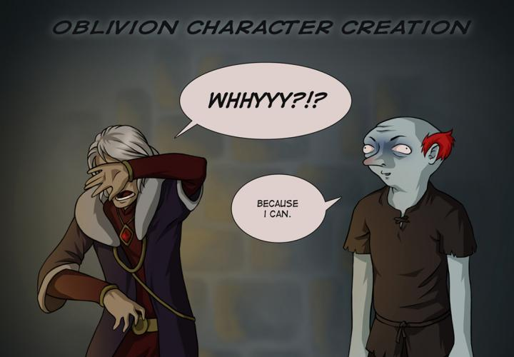 Oblivion Character Creation